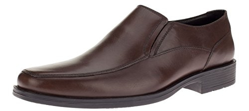 Gino-Valentino-Mens-Leather-Dress-Shoe-Lenox-Slip-On-Loafer