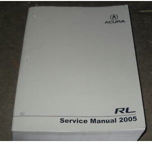2005 acura rl owners manual - 6