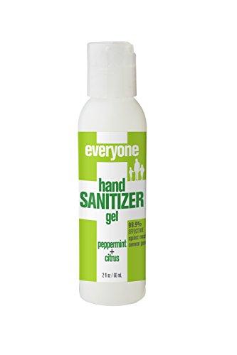 Gel Citrus Mint (Everyone Hand Sanitizer Gel, Peppermint and Citrus, 2oz, 6 Count)