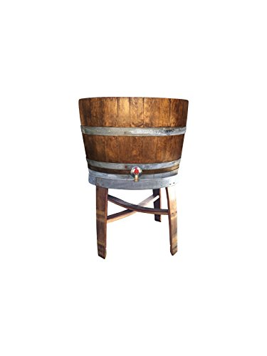 Barrel Cooler Wine (Wine Barrel Cooler and Stand)