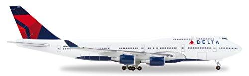 hermes Wings 1/500 B747-400 Delta Airline N674US