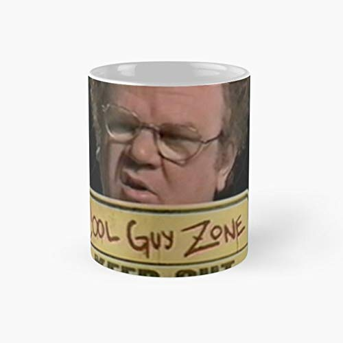 dr steve brule cool guy zone Mug, tim and eric Funny Mugs, 11 Ounce Ceramic Mug, Perfect Novelty Gift Mug, Tea Cups, Funny Coffee Mug 11oz, Tea -