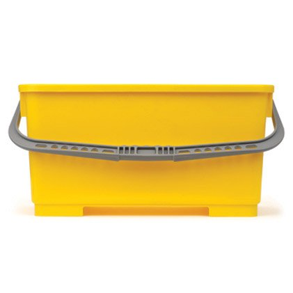 Windows101 Rectangle Bucket 6 Gallon Yellow