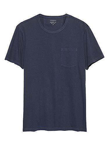 Banana Republic Mens Garment Dye T Shirt, Spellbound (L) (Tshirt Banana Republic Men)