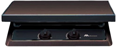 Atwood Mobile Products 56460 Cover for DVC3-BLR 3 Black Drop-In Cooktop Burner Fits DV 30 (Cover only)