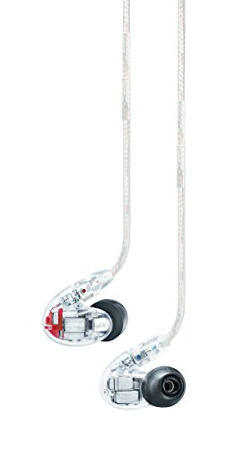 Shure SE846-CL Sound Isolating Earphones with Quad High Definition MicroDrivers and True Subwoofer by Shure