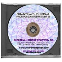 BMV Quantum Subliminal CD Stroke Recovery Aid (Ultrasonic Peak Health Series) (Recovery Peak)