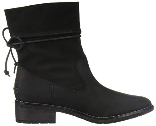 Calf 5 5 Ronan Us Top Sperry Boot Maya M sider Mid Women's Black zxvYq