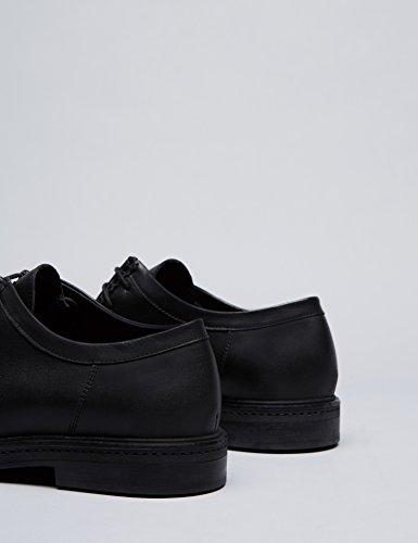 Hombre Costura black Cordones De Negro Find Para Y Zapatos afIPxpqY