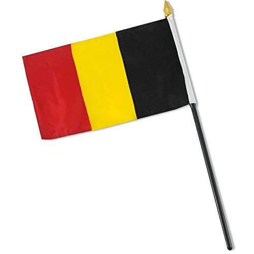 Kaputar 4x6 Belgium Stick Flag Table STF Desk Table | Model FLG - 7647