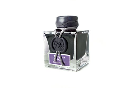 Herbin 50 ml 1798 Amathyste de l'Orual (Ural Amethyst) Ink Bottle