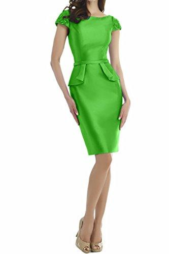 Missdressy - Vestido - Escotado por detrás - para mujer Verde