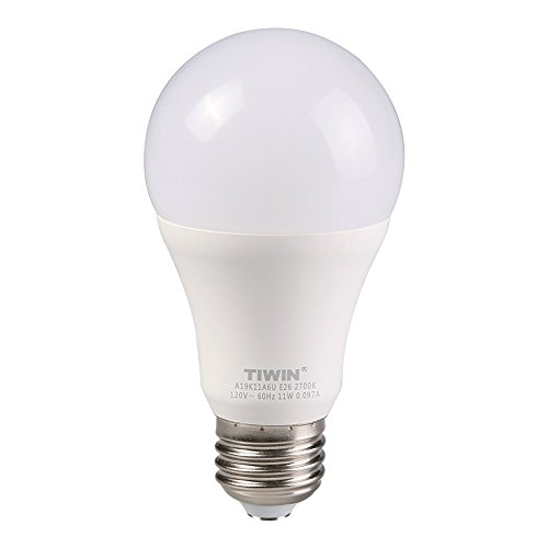 tiwin led light bulbs 100 watt equivalent 11w soft white. Black Bedroom Furniture Sets. Home Design Ideas