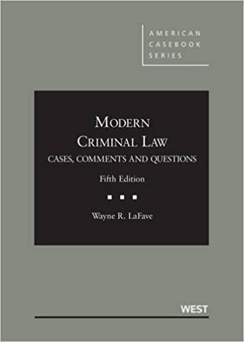 Amazon modern criminal law cases comments and questions 5th modern criminal law cases comments and questions 5th casebookplus american casebook series 5th edition fandeluxe Image collections