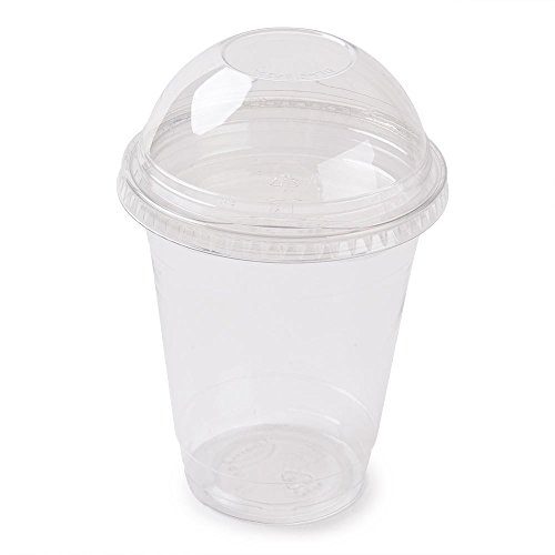 clear-plastic-disposable-cups-for-iced-coffee-bubble-boba-tea-smoothie-12-oz-with-dome-lids-100-pack