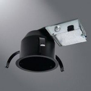 Halo H245RICAT IC, Ultra-Shallow, Raw Finish Recessed Housing, (Insulated Recessed Light Housing)