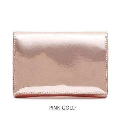 Jieway Women Clutch Purse Mirror Bright Patent Leather Handbags Crossbody Tote Bags Evening Bag