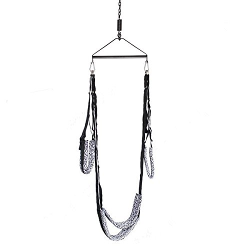 Metallic Frame Spinning Sex Swing Heavy Duty Indoor Sling Couples Love Game Set Snow Leopard Buy Online In Uae Apparel Products In The Uae