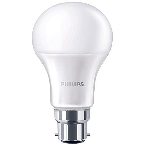 Philips 5060377882321 230 V B22 bayoneta 9 W Bombilla LED, luz blanca cálida de goma para ordenador portátil: Amazon.es: Iluminación