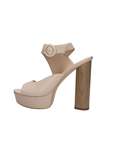 LEA03 Marfil Sandalias FLMKN2 GUESS Mujer 5SBOw