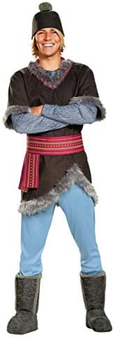 Disguise Frozen Kristoff Deluxe Adult Costume