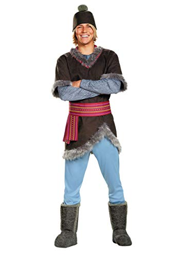 Disney Men's Plus Size Frozen Kristoff Costume, Multi, XX-Large -