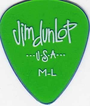 12 x Jim Dunlop geles verde luz media de p/úas de guitarra