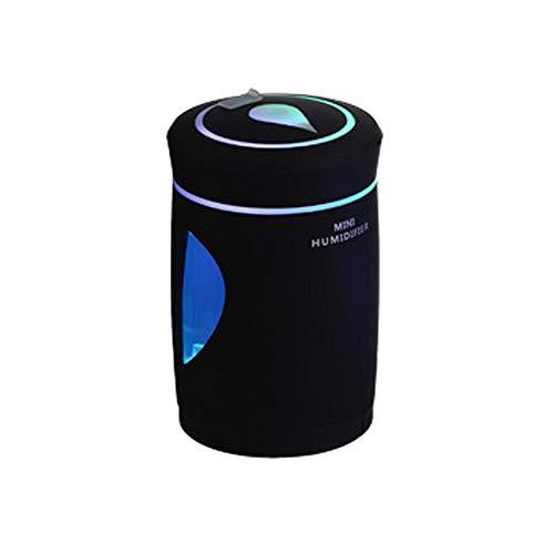 Alimao USB Humidifier Mini Night Light LED Humidifier Air Diffuser Purifier Atomizer BK Black