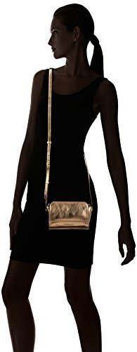 Liebeskind Mini Berlin Crossbody Leather Sioux Structured Metallic Women's Fameme Beige Hollywood awaqYFpxrO