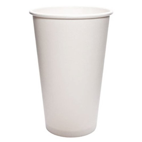 Paper White Dopaco - Dopaco DOPD16HCW Paper Hot Cups, 16 Oz, White, 50/bag, 20 Bags/carton