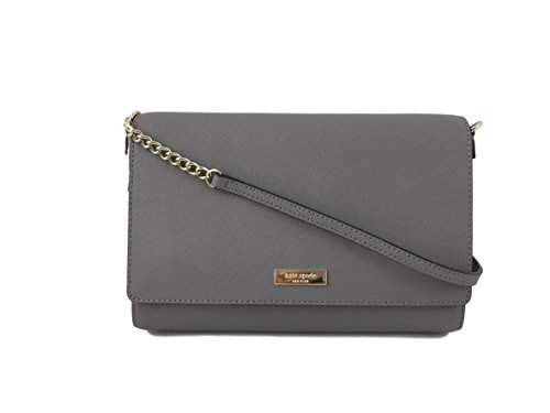 Kate Spade New York Saffiano Charlotte Street Alek Crossbody Bag in Haregrey by Kate Spade New York