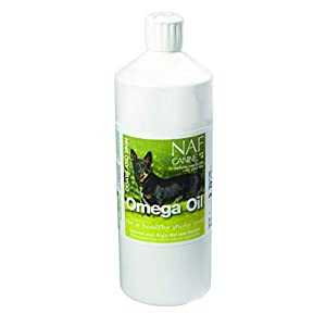 Natural Animal Feeds Unisex's Canine Omega Oil, Clear, 1 Litre