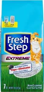 Fresh Step Cat Litter, Regular, 7-Pound Packages, 6-Pack