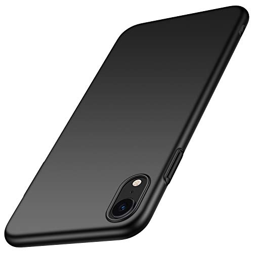 anccer Colorful Series for iPhone XR Case Ultra-Thin Anti-Drop Premium Material Slim Full Protection Cover for Apple iPhone XR 6.1 inch (Smooth Black)