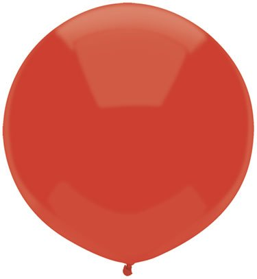 Mayflower Balloons 8917 Inch 17 Inch Outdoor Latex - Real Red Pack Of 72