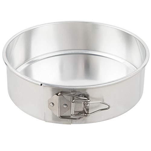 TableTop King 40409 9 inch Aluminum Springform Customizable Cake Pan