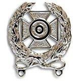 Army Expert Shooting Badge Mirrored Finish - Regulation