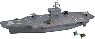 MotorMax 18 Aircraft Carrier Playset with Realistic Sounds by Motormax