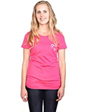 Tipsy Koala Women's Solid Round Neck T Shirt