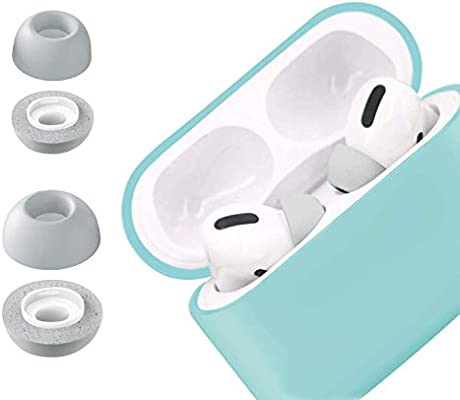 Black Non-Slip Soft Protective Ear Hooks Compatible with Airpods Pro//Airpods 3 Memory Foam Earbuds Airpods 3 Covers Yuewei Airpods Pro Ear Tips 2 Pairs