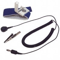 Wrist Strap Grounding System (Wrist Strap, With 5 ft. Coiled Cord)