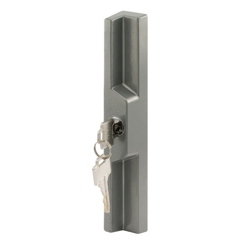 Slide-Co 15567-A Universal Sliding Door Outside Pull with Key, Gray (Doors Outside Locks For Patio)