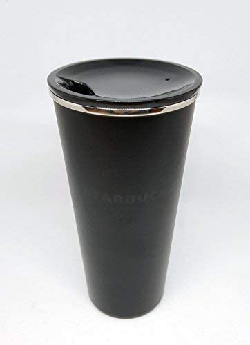 Amazon.com: Starbucks negro mate acero inoxidable 16oz vaso ...