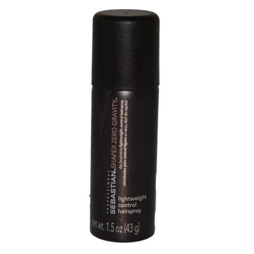 Sebastian Shaper Zero Weightless Gravity Hair Spray, 1.5 Ounce