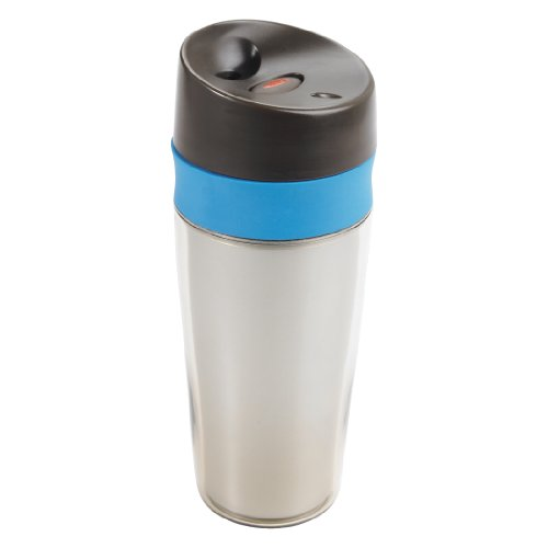 OXO Good Grips Liquiseal Travel Mug, Cafe/Teal