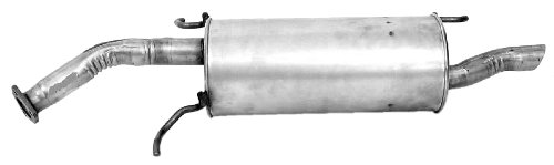 (Walker 54465 Quiet-Flow Stainless Steel Muffler)