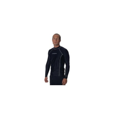 Guard Neosport Rash - NeoSport Unisex Adult Loose Fit Long Sleeve Rash Guard-XSmall