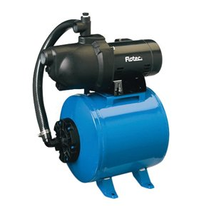 """Flotec FP401215H Jet Pump and Tank System, 8 gpm, 1-1/4"""" ..."""