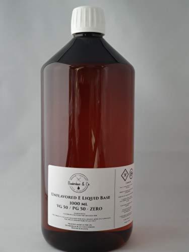 Bunkerbase & Co. E Liquid Base – VG 50 / PG 50-1000ml ohne Nikotin