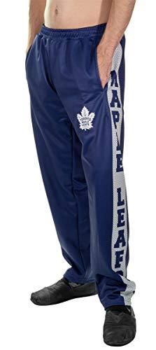 Calhoun Sportswear NHL Men's Performance Fleece Sweatpants (Toronto Maple Leafs, X-Large)